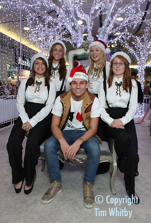 CROYDON, ENGLAND - DECEMBER 03:  Joey Essex attends the launch of the grown-up Grotto in Centrale Shopping centre on December 3, 2011 in Croydon, England.  (Photo by Tim Whitby/Getty Images)