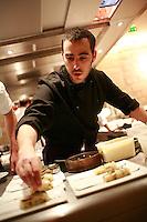 Daniel Rose' restaurant Spring, in Paris..Daniel Rose..Photograph by Owen Franken