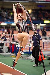 Newman, Univ Miami, womens pole vault, Armory Track Invitational Indoor,