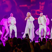 Rita Ora Performances at Westfield London's 10-year birthday celebrations at Westfield Square on 30 October 2018, London, UK.