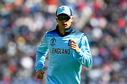 Tom Curran of England during the ICC Cricket World Cup 2019 match between England and Bangladesh the Cardiff Wales Stadium at Sophia Gardens, Cardiff, Wales on 8 June 2019.