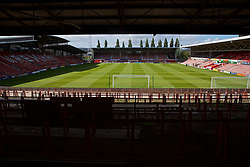 WREXHAM, WALES - Friday, September 6, 2019: A general view of the Racecourse Ground ahead of the UEFA Under-21 Championship Italy 2019 Qualifying Group 9 match between Wales and Belgium. (Pic by Laura Malkin/Propaganda)