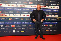 December 3, 2018 - Milan, Italy - Paolo Cevoli at 'Oscar Del Calcio AIC' Italian Football Awards photocall in Milano, Italy, on December 03 2018  (Credit Image: © Mairo Cinquetti/NurPhoto via ZUMA Press)