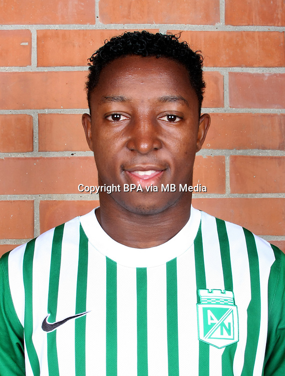 Colombia League - Postobom Liga 2014-2015 -<br /> Club Atletico Nacional Medellin - Colombia / <br /> Oscar Murillo