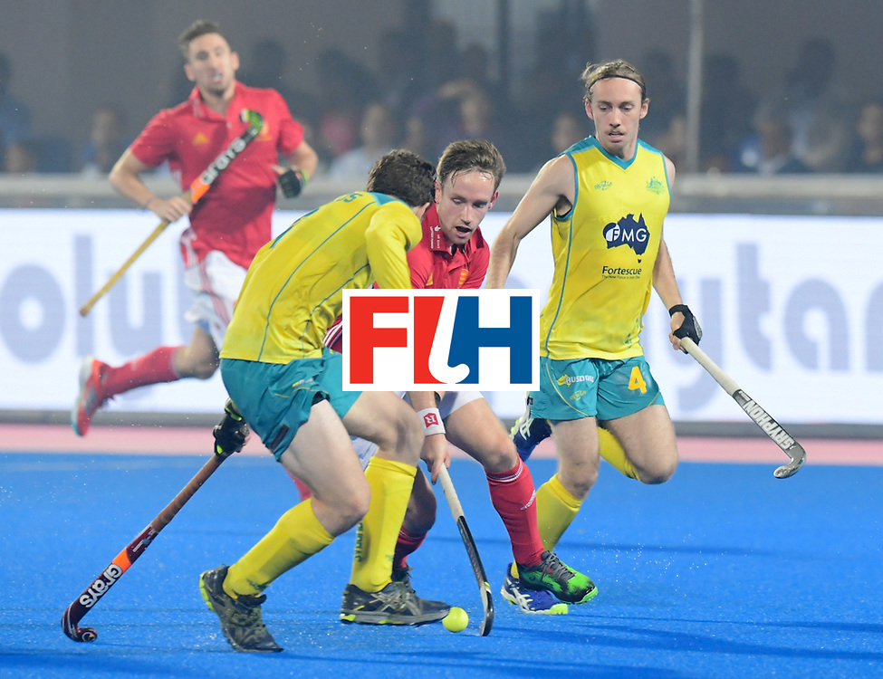 Odisha Men's Hockey World League Final Bhubaneswar 2017<br /> Match id:09<br /> Australia v England<br /> Foto: <br /> WORLDSPORTPICS COPYRIGHT FRANK UIJLENBROEK