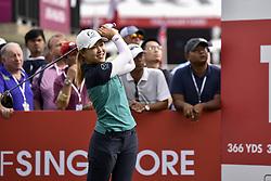 October 26, 2017 - Kuala Lumpur, Malaysia - Kelly Tan of Malaysia during day one of the Sime Darby LPGA Malaysia at TPC Kuala Lumpur on October 26, 2017 in Kuala Lumpur, Malaysia. (Credit Image: © Chris Jung/NurPhoto via ZUMA Press)
