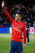 Marcos Aoas Correa dit Marquinhos (PSG) left the playground at the end of the game during the French championship L1 football match between Paris Saint-Germain (PSG) and Toulouse Football Club, on August 20, 2017, at Parc des Princes, in Paris, France - Photo Stephane Allaman / ProSportsImages / DPPI