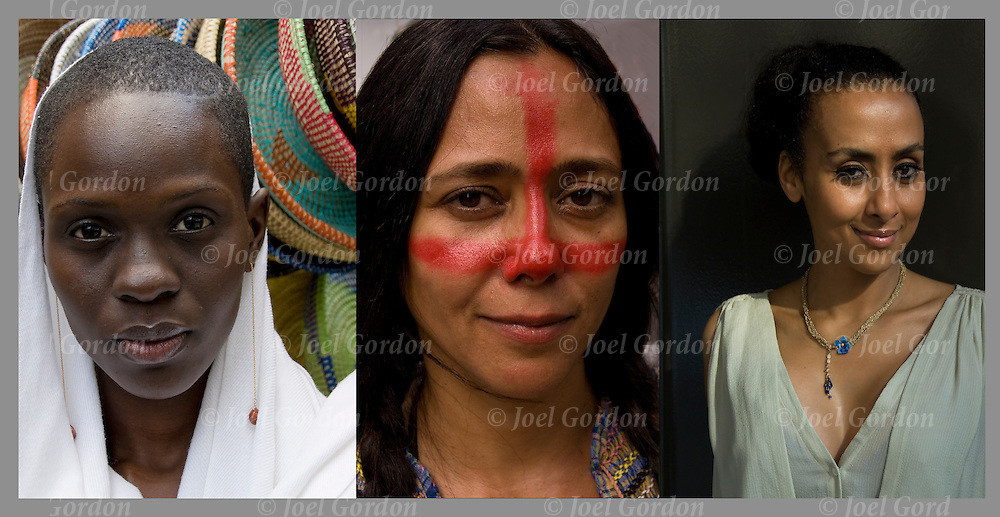 What is beauty? three different women, African, Indigenous and Moroccan.<br /> <br /> Indigenous Woman - GOR-82747-11cR<br /> Senegalese Woman - GOR-84460-11<br /> Attractive Woman - GOR-86346-11