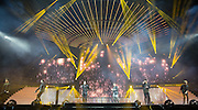 Stereo Kicks during the X Factor Live Tour 2015 at the Brighton Centre, Brighton & Hove, United Kingdom on 16 March 2015. Photo by Phil Duncan.