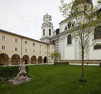 Furtwänglergarten / Kollegienkirche / Universität Salzburg