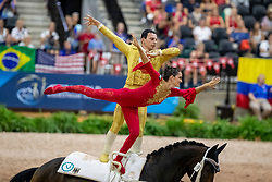 BRESCH Theresa-Sophie (GER), JACOBS Torben (GER), Picardo<br /> Tryon - FEI World Equestrian Games™ 2018<br /> Voltigieren Kür/Freestyle Pas de Deux Finale<br /> 20. September 2018<br /> © www.sportfotos-lafrentz.de/Stefan Lafrentz