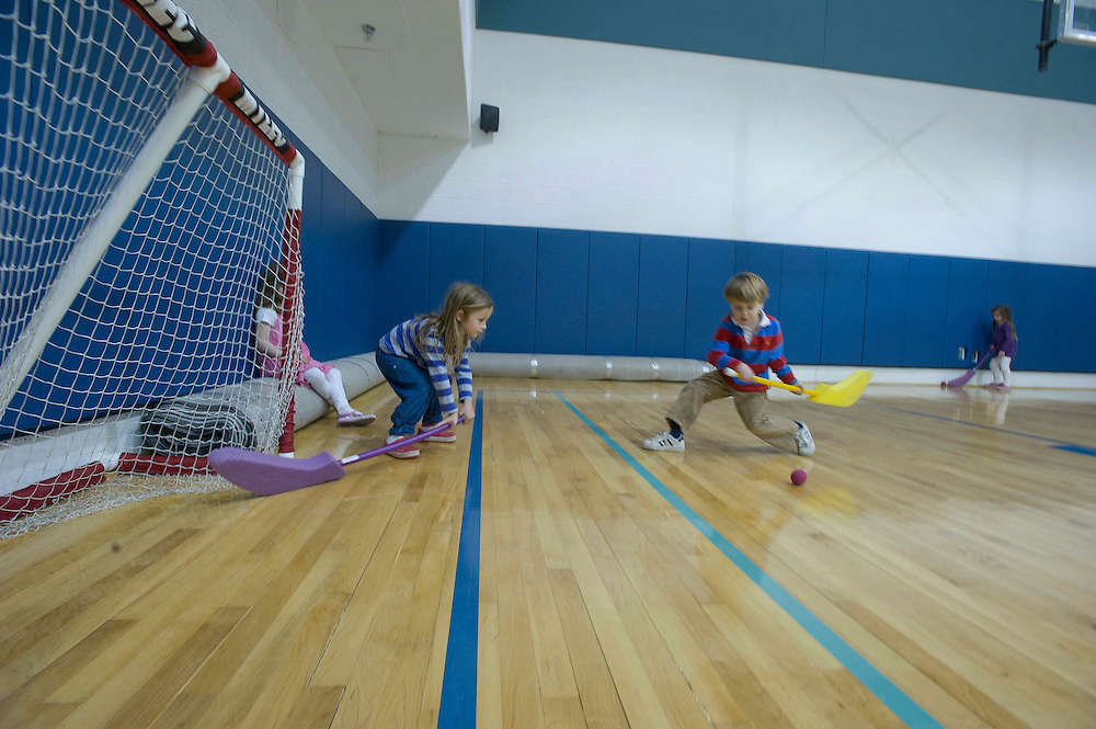 WASHINGTON (2010-2011) -- River School Kids, Cardinals in PE.  Photo by Johnny Bivera