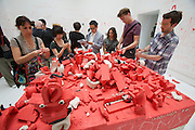 "54th Biennale of Venice..ILLUMInazioni - ILLUMInations.Giardini. International Exhibition curated by Bice Curiger..Norma Jeane, ""#Jan25 (#Sidibouzid, #Feb12, #Feb14, #Feb17...)"", 2011."