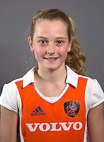 AMSTELVEEN - YIBBI JANSEN , Nederlands Meisjes B hockey. Foto KOEN SUYK