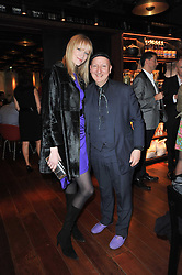 JADE PARFITT and STEPHEN JONES at a dinner in honour of Andre Leon Talley and Manolo Blahnik held at The Spice Market restaurant at<br /> W London, Leicester Square, London on 14th March 2011.