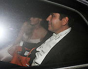 28.JUNE.2012 WINDSOR<br /> <br /> DAVID WALLIAMS AND LARA STONE LEAVING ELTON JOHNS WHITE TIE AND TIARA BALL IN WINDSOR.<br /> <br /> BYLINE: EDBIMAGEARCHIVE.COM<br /> <br /> *THIS IMAGE IS STRICTLY FOR UK NEWSPAPERS AND MAGAZINES ONLY*<br /> *FOR WORLD WIDE SALES AND WEB USE PLEASE CONTACT EDBIMAGEARCHIVE - 0208 954 5968*