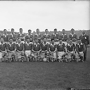 ALL IRELAND SENIOR GAELIC FOOTBALL FINAL BETWEEN LOUTH AND CORK IN CROKE PARK ON SEPTEMBER 21ST 1957 - CORK TEAM....LOUTH WON THE SAM MAGUIRE CUP 1-9 TO 1-7..21.09.1957, 09.27.1957, 21st September 1957