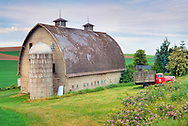 Bow Truss barn in Washington state.