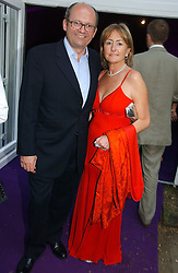 City millionaire MICHAEL SPENCER and his wife LORRAINE at The Summer Ball in Berkeley Square , Londin W1 in aid of the Prince's Trust on 6th July 2006.<br /><br />NON EXCLUSIVE - WORLD RIGHTS