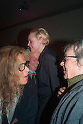 SUZANNE WYMAN; GWENDOLINE CHRISTIE; DAVID BAILEY; BILL WYMAN, Opening of Bailey's Stardust - Exhibition - National Portrait Gallery London. 3 February 2014