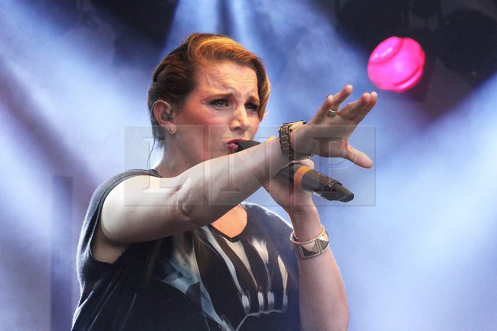 © Licensed to London News Pictures. 28/06/2014. London, UK  Sam Bailey. Pride in London 2014, London UK, 28 June 2014. Photo credit : Brett D Cove/piQtured/LNP