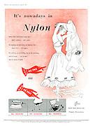 Nylon Advert - Punch April 29th 1953