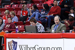 01 January 2017:  during an NCAA Missouri Valley Conference Women's Basketball game between Illinois State University Redbirds the Braves of Bradley at Redbird Arena in Normal Illinois.