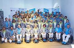Presentation of Slovenian Olympic and Paralympic team for London 2012, on July 6, 2012 in Ljubljana's Castle, Ljubljana, Slovenia.  (Photo by Vid Ponikvar / Sportida.com)