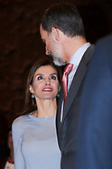 041018 Spanish Royals Attend 'La Caixa' Scholarship