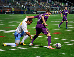 24 May 2014. New Orleans, Louisiana.<br /> New Orleans Jesters win 3-2 against Chattanooga FC at the Pan Am Stadium. <br /> Charlie Varley/varleypix.com