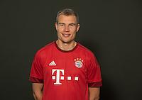 German Soccer Bundesliga 2015/16 - Photocall of FC Bayern Munich on 16 July 2015 in Munich, Germany: Holger Badstuber