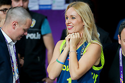 Sanja Modric during the Final basketball match between National Teams  Slovenia and Serbia at Day 18 of the FIBA EuroBasket 2017 at Sinan Erdem Dome in Istanbul, Turkey on September 17, 2017. Photo by Vid Ponikvar / Sportida