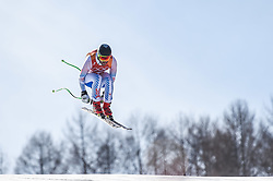February 15, 2018 - Jeongseon, Gangwon, South Korea - Wiley Maple of United States competing in mens downhill at Jeongseon Alpine Centre at Jeongseon , South Korea on February 15, 2018. (Credit Image: © Ulrik Pedersen/NurPhoto via ZUMA Press)