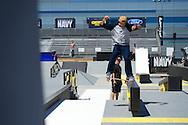Ryan Decenzo during Street League Skate Practice at 2013 X Games Los Angeles in Los Angeles, CA. ©Brett Wilhelm/ESPN