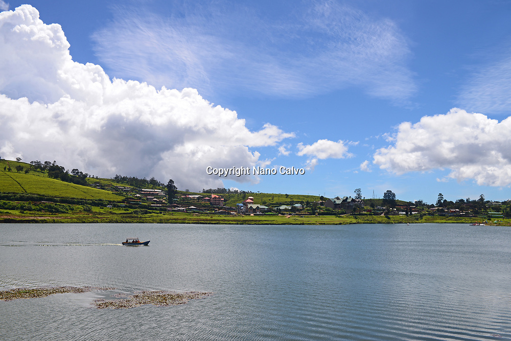 View of Lake Gregory from Gregory Park, Nuwara Eliya, Sri Lanka