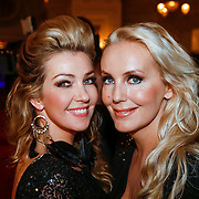 NLD/Amsterdam/20121112 - Beau Monde Awards 2012, Mandy Huydts en Brigitte Nijman