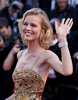 Eva Herzigova at the opening ceremony and Ismael's Ghosts (Les Fantômes D'ismaël) gala screening,  at the 70th Cannes Film Festival Wednesday May 17th 2017, Cannes, France. Photo credit: Doreen Kennedy