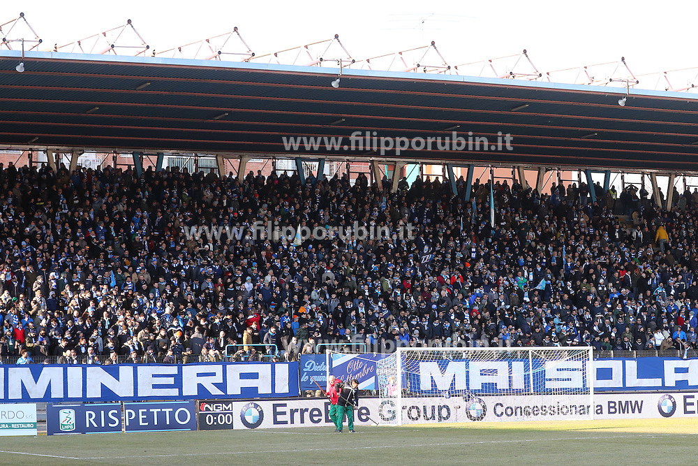 "Foto Filippo Rubin<br /> 21/01/2017 Ferrara (Italia)<br /> Sport Calcio<br /> Spal vs Benevento - Campionato di calcio Serie B ConTe.it 2016/2017 - Stadio ""Paolo Mazza""<br /> Nella foto: I TIFOSI DELLA SPAL<br /> <br /> Photo Filippo Rubin<br /> January 21, 2017 Ferrara (Italy)<br /> Sport Soccer<br /> Spal vs Benevento - Italian Football Championship League B ConTe.it 2016/2017 - ""Paolo Mazza"" Stadium <br /> In the pic: spal's fans"