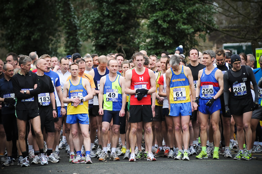 Race Photography at the High Legh 10k Race in Lymm Cheshire