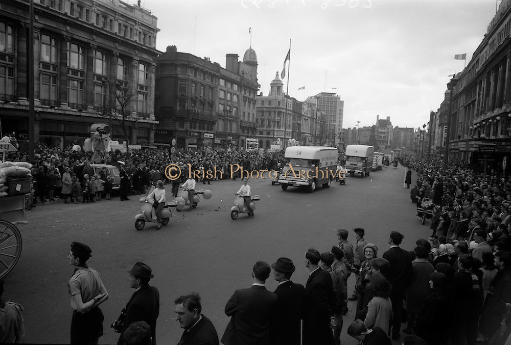 17/3/1966<br /> 3/17/1966<br /> 17 March 1966<br /> <br /> Smith &amp; Nephew Display at the St. Patricks Day Parade