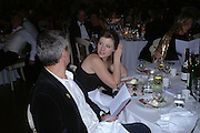 hon Charlotte Seyfried-Herber and Andrew Corrie. Connaught Square Squirrel Hunt Inaugural Hunt Ball. Banqueting House, Whitehall. 8 September 2005. ONE TIME USE ONLY - DO NOT ARCHIVE  © Copyright Photograph by Dafydd Jones 66 Stockwell Park Rd. London SW9 0DA Tel 020 7733 0108 www.dafjones.com