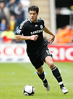 Photo: Steve Bond/Richard Lane Photography.<br />Coventry City v Chelsea. FA Cup 6th Round. 07/03/2009. Michael Ballack brings the ball away