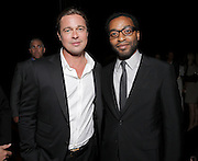 "Brad Pitt and Chiwetel Ejiofor are seen at Fox Searchlight's Premiere of ""12 Years A Slave"", on Friday, September 6th, 2013 in Toronto, Canada. (Photo by Todd Williamson/Invision for Fox Searchlight/AP Images)"