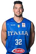 Christian Burns<br /> Nazionale Italiana Maschile Senior - Headshot<br /> FIP 2017<br /> Torino, 20/11/2017<br /> Foto M.Ceretti / Ciamillo-Castoria