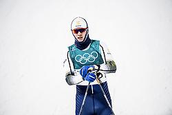February 13, 2018 - Stockholm, Sweden - OS 2018 i Pyeongchang. Sprint, herrar. Oskar Svensson, längdskidÃ¥kare Sverige, tävling action landslaget (Credit Image: © Orre Pontus/Aftonbladet/IBL via ZUMA Wire)