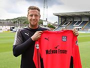 Goalkeeper Elliot Parish, pictured after signing for Dundee FC at Dens Park, Dundee, Photo: David Young<br /> <br />  - &copy; David Young - www.davidyoungphoto.co.uk - email: davidyoungphoto@gmail.com