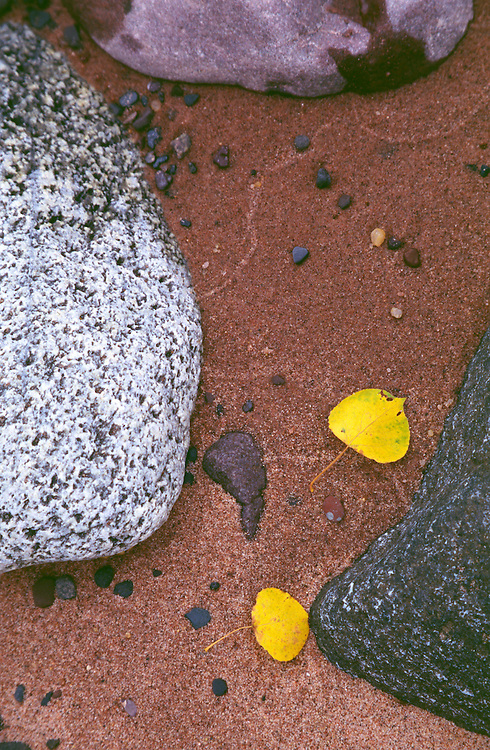 Autumn Beach, Madeline Island, Lake Superior