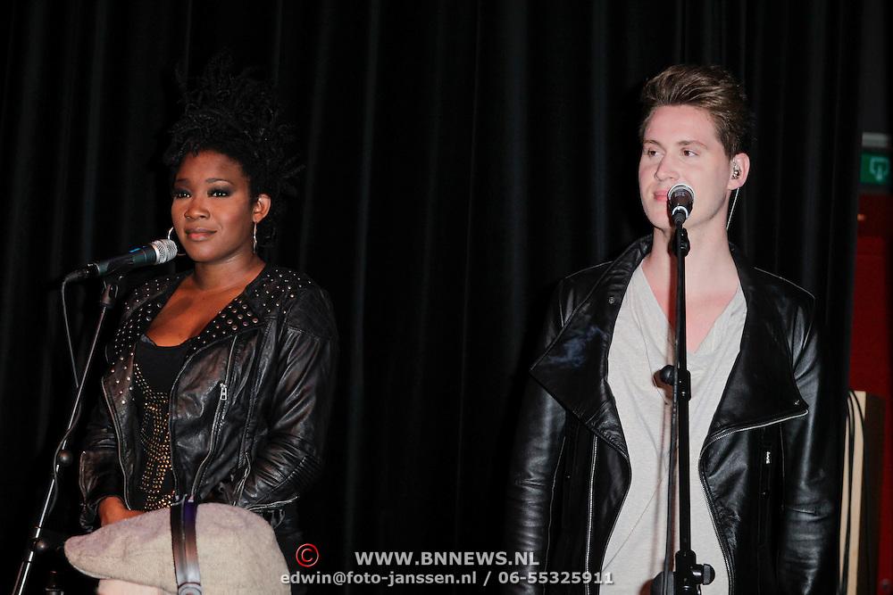 NLD/Amsterdam/20120523 - Showcase Glennis Grace,