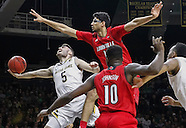 NCAA Basketball - Notre Dame Fighting Irish vs Louisville Cardinals - South Bend, In