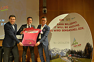 PRESENTAZIONE TOUR OF THE ALPS 2018 MILANO 7 NOVEMBRE 2017